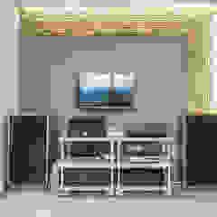 Modern Media Room by MetaPhora Co.,LTD Modern