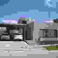 VIVIENDA VISTAPUEBLO II Casas modernas: Ideas, imágenes y decoración de Arq. Leticia Gobbi & asociados Moderno