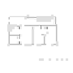 Nieuwbouw moderne villa Moderne slaapkamers van Studio Blanca Modern