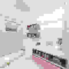 iost Arquitetura e Interiores Modern Bathroom Stone White