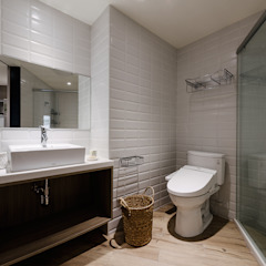 Eclectic style bathroom by 隹設計 ZHUI Design Studio Eclectic