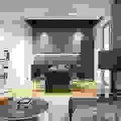 CLOUD9 DESIGN Moderne Wohnzimmer