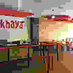 Mkhaya restaurant by A4AC Architects Rustic