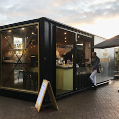 Roast Republic Container by A4AC Architects Modern Iron/Steel