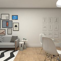 by Studio Escala Arquitetura e Interiores Scandinavian