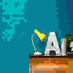 Anaglypta Espaços comerciais rústicos por House Frame Wallpaper & Fabrics Rústico