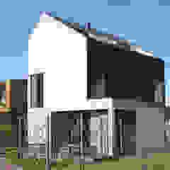 8A Architecten Modern houses Slate Black