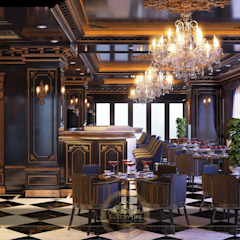 Cafe Vườn Du thuyền & phi cơ phong cách chiết trung bởi NEW LAND CONSTRUCTION DEVELOPMENT AND INVESTMENT JOINT STOCK COMPANY Chiết trung Thạch anh
