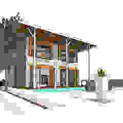 Weekend Villa Minimalist house by Obelisk Engineering & Contracting WLL. Minimalist
