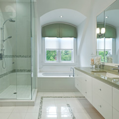 Modern Retreat Modern bathroom by Douglas Design Studio Modern Glass