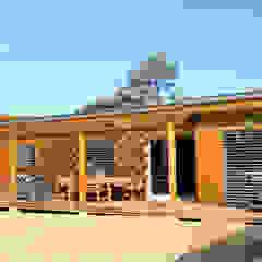 RUSTICASA | 100 projetos | França + Benelux por Rusticasa Moderno Madeira Acabamento em madeira