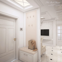 Best Home Classic style corridor, hallway and stairs White