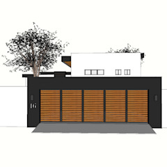 House Pretorius - Northcliff Modern garage/shed by Graftink Interior and Architectural Design Studio Modern