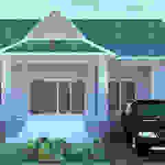 บ้าน 1ชั้น โดย mayartstyle ชนบทฝรั่ง คอนกรีต