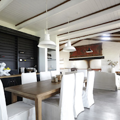 Kleinbos Rustic style dining room by Full Circle Design Rustic