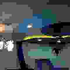 Mansi Twins AOM Interior Modern style bedroom