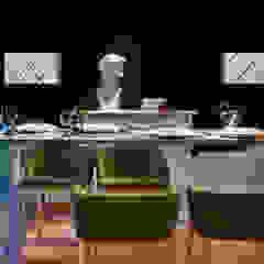 Bona Sala da pranzo moderna Legno Effetto legno