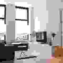 Livings de estilo escandinavo de Atelier09 Escandinavo