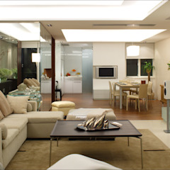 evergreen villa Asian style living room by wayne corp Asian