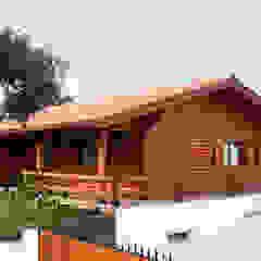 RUSTICASA | Casa no Sardoal | Santarém por Rusticasa Rústico Madeira maciça Multicolor