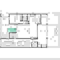 Vivienda La Emilia Casas modernas: Ideas, imágenes y decoración de Estudio de Arquitectura Lucía Farías Moderno
