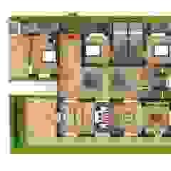 PROYECTOS GRUPO Habitaciones de estilo ecléctico de Grupo Inovarq Ecléctico