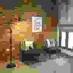 Interior Residential - Pomentia Residence Ruang Keluarga Gaya Industrial Oleh RANAH Industrial