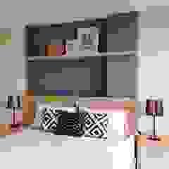 Studio Apartment - Bintaro Plaza Residence Kamar Tidur Gaya Skandinavia Oleh RANAH Skandinavia