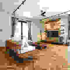 من ジャストの家 ريفي خشب Wood effect