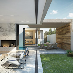 Marwah_33 Modern living room by Ahmed Akoob Architects Modern