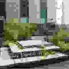 Asian style garden by 가든디자인 뜰(garden design 뜰) Asian