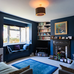 Extension & Renovation, East Sheen, SW14 Modern living room by TOTUS Modern