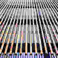 od navarro+vicedo arquitectura Śródziemnomorski Lite drewno Wielokolorowy