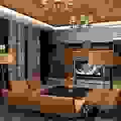 Shakib Villa Interior Classic style living room by Gurooji Designs Classic