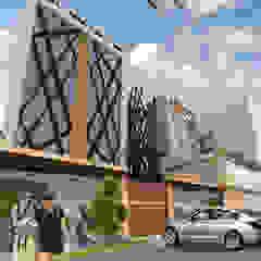 HOTELCN - CHICLAYO Casas de estilo moderno de CN y Arquitectos Moderno Hormigón
