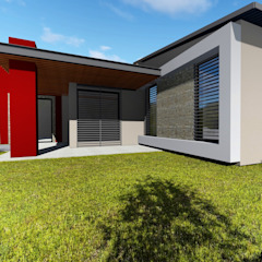 House Ruu - Venda Thohoyandou Modern houses by BlackStructure Modern