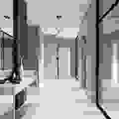 Minimalist corridor, hallway & stairs by Студия дизайна 'Азбука Дом' Minimalist
