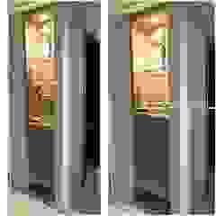 LVM Arquitetura Ingresso, Corridoio & Scale in stile moderno