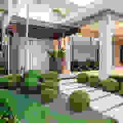 Jardines de estilo tropical de Le Jardin Arquitectura Paisagística Tropical