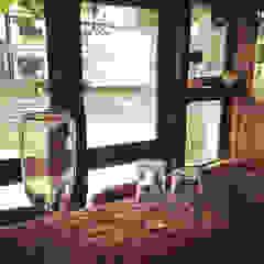 cafe shizuku カントリーなレストラン の 空間設計カラー店舗設計事務所 カントリー