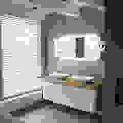 Verbouw monumentale woning Eclectische badkamers van studio architecture Eclectisch Beton