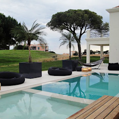 Vakantiewoning Portugal Moderne zwembaden van design iD Modern
