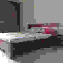 Bed Design Modern style bedroom by Vedasri Siddamsetty Modern