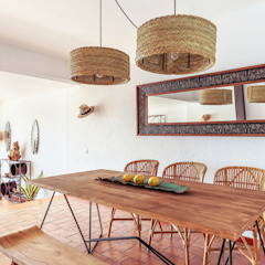 Dining room by Markham Stagers Mediterranean