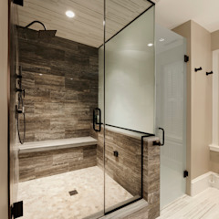 Luxury Kalorama Condo Renovation in Washington DC BOWA - Design Build Experts Minimalist bathroom