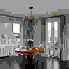 Luxury Kalorama Condo Renovation in Washington DC BOWA - Design Build Experts Minimalist dining room