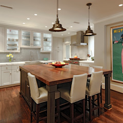 Luxury Kalorama Condo Renovation in Washington DC BOWA - Design Build Experts Minimalist kitchen