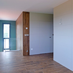 Rustykalne domowe biuro i gabinet od AD+ arquitectura Rustykalny Drewno O efekcie drewna