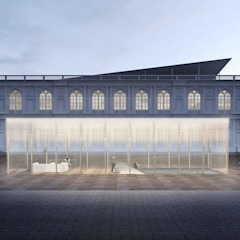 Concurso Museo Arte Contemporáneo de ARCHITECTS Minimalista Vidrio