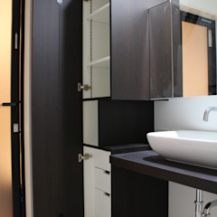 コト BathroomStorage Wood Wood effect